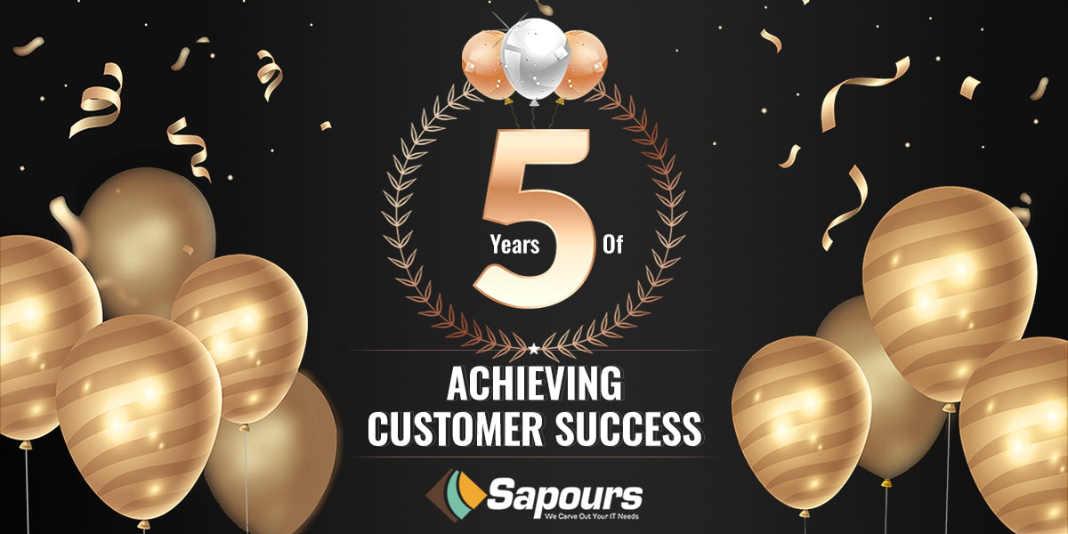 Sapours Technologies Celebrates its 5th Anniversary in a Unique Way
